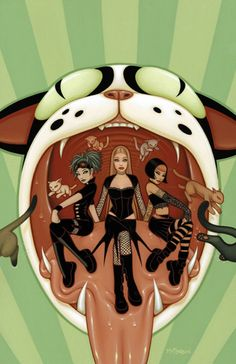 Tara McPherson   ART Illustrations Comic Covers The Witching