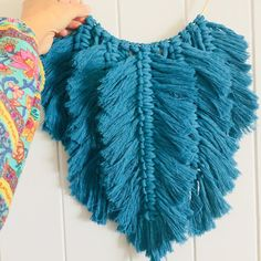 FOR SALE Peacock blue feathers - a bold, rich, boho luxe statement piece for your Home by Love Me Knot Macrame and with thanks to @naecogreen #lovemeknotmacrame #macrame #macramefeathers #macramewallhanging #macramewallart #modernmacrame #macramelove #macrameart #myart #wallart #fibreart #macramemovement #macramemakers #makersgonnamake #makersmovement #macramecommunity #handmade #boho #bohohome #bohostyle #bohodecor #bohemianstyle #bohemiandecor #spelldesigns #vintagespell #spellbss…