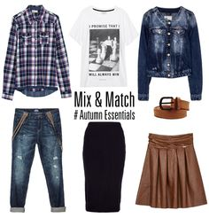 Mix & match your fav Autumn, Fall, Mix Match, Essentials, Ootd, Fashion, Moda, Fall Season, Fall Season