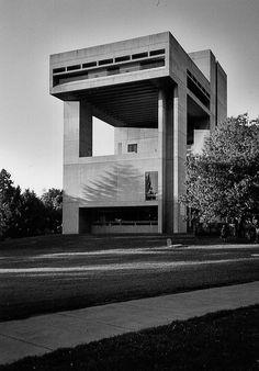 Herbert F. Johnson Museum of Art, Cornell University, Ithaca, New York, 1968-1973 (I.M. Pei Partners)