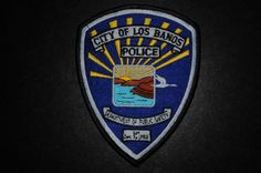 Los Banos Police Patch, Merced County, California (Current 1989 Issue)