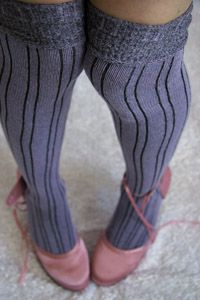 Cotton Inklined Knee Highs