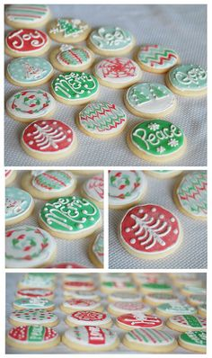 Cute Christmas cookies :)