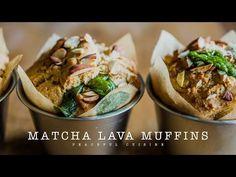 Matcha & Adzuki beans Muffin (vegan) ☆ 抹茶と小豆のマフィンの作り方 - YouTube