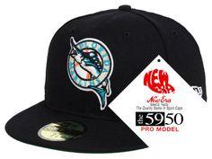 Florida Marlins New Era MLB Retro Stock 59FIFTY Cap Fitted Caps 101947287e19
