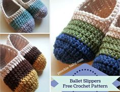 Crochet Loafer Slippers Free Patterns   The WHOot