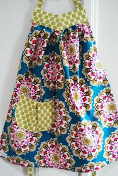 Boutique Girl's Child Toddler Apron Dress by angelakaydesigns, $25.00