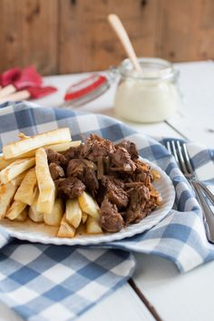 OERhollands – Friet met stoofvlees