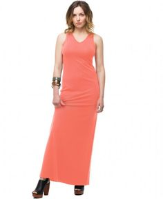 your FAVORITE MAXI DRESS - Coral. UPF 50+ fashion. Sun protection meets style.
