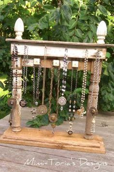 Jewelry Display: Top 16 Attractive Ways to Decorate Your Outdoor Space With Mantel