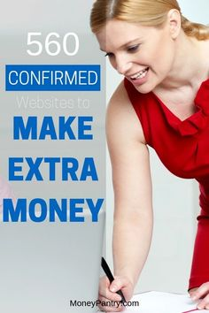Want more money? Use these confirmed sites, apps and companies to make extra money online and at home. Make Easy Money, Make Money From Home, Way To Make Money, Preparing For Retirement, Early Retirement, Money Now, Money Today, Planning Budget, Money Tips