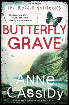 Butterfly Grave by Anne Cassidy (F CAS bk.3)   Rose and Joshua do not know who to trust, even Joshua's uncle has a dark past, touched by murder. And then the precious murder notebooks are stolen and it is Skeggsie who pays the price for Rose and Joshua's so-called meddling. Somebody out there really does not want Rose and Joshua to find their parents.   MYSTERY/THRILLER