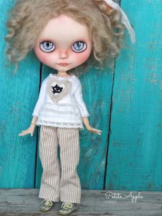Blythe doll outfit *Kitty luv* by Petite Apple