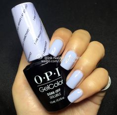 Opi The I S Have It A Light Blue Creme Nail Shimmer Polish From Alice Through Looking Gl Collection 2016 Hair And Beauty Pinterest