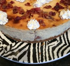 Bacon Cheesecake. So good, trust me. Nom nom nom http://mom.me/food/meal-inspiration/17307-recipes-bacon-obsessed/item/maple-bacon-cheesecake/?crlt.pid=camp.to2ArMMb0oJo  (Or click on link in comments)