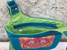 Moxie crossbody bag {interior view} by Betz White {no pattern - photo only}