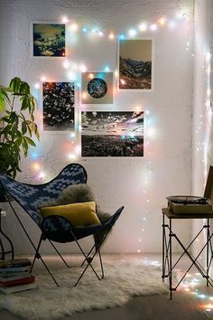 Battery Powered Crystal String Lights - Urban Outfitters