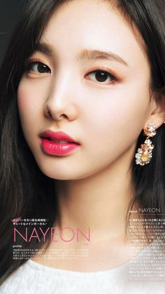 Korean Makeup, Korean Beauty, Kpop Girl Groups, Kpop Girls, Jihyo Twice, Nayeon Twice, Beautiful Young Lady, Im Nayeon, Dahyun