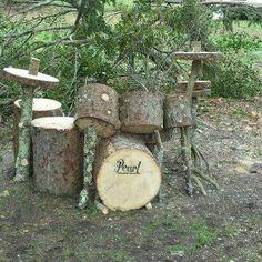 ...wenn DAS nicht ein echtes Schlagzeug ist ?! ;-) ...schon bei der Herstellung wurde es laut :-D   http://pinterest.com/postenmaxe/things-have-to-be-shared/   #thingshavetobeshared