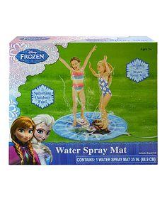 Look at this #zulilyfind! Frozen Spray Mat by Frozen #zulilyfinds