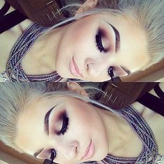 Georgia | GRGCTTS @grgctts Today's makeup. B...Instagram photo | Websta (Webstagram)