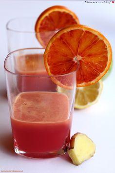 Centrifuga per arancia, carota, mela, limone e zenzero - Vegan salati - Spritz Cocktail, Cocktail Juice, Healthy Drinks, Healthy Eating, Healthy Recipes, Art Cafe, Oven Vegetables, Detox Kur, The Chai