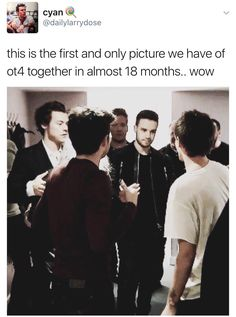 We finally got a pic of when Harry, Niall, and Liam when to see Louis' X Factor performance of Just Hold On after his mom died.