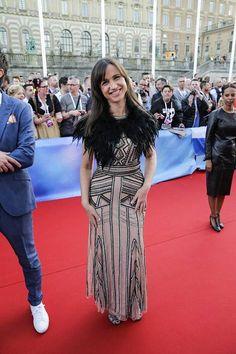 Tukholman euroviisujen toinen juontaja Petra Mede nimesi Ranskan Amirin yhdeksi omista suosikeistaan.