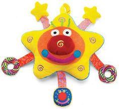 Whoozit Starz Toy by Manhattan Toy - Cow & Lizard