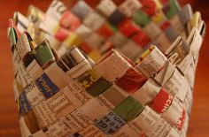How To Weave A Newspaper Basket | Green Yatra Blog