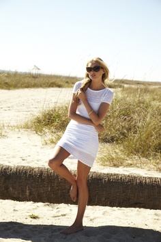 Lilly Pulitzer Spring '13- Paula Sweater Dress in Resort White Crochet