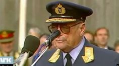 król Norwegii Olav V - 1987r.