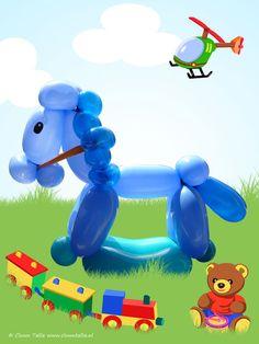 Rocking horse balloon animal