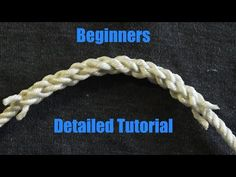 Beginner Friendly Splicing - How To Splice 3 Stranded Rope Together Paracord Knots, Rope Knots, Macrame Knots, Tie The Knots, Splicing Rope, Nautical Knots, Fishing Knots, Fishing Tips, Rope Crafts
