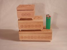 Compact and roomy boxes for different jewelry. Of от NovaHata