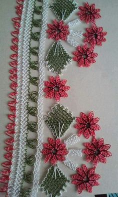 This Pin was discovered by HUZ Embroidery Neck Designs, Needle Lace, Elsa, Christmas Wreaths, Diy And Crafts, Crochet Patterns, Holiday Decor, Flowers, Xmas