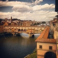 This elevated passageway on top of the Ponte Vecchio, houses a collection of hidden art