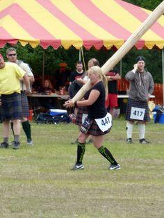 Caber woman competitor... Timber! Scotland Castles, Edinburgh Scotland, Scotland Travel, Scottish Highland Games, Scottish Highlands, Pictish Warrior, Scottish Mountains, Tartan, Plaid