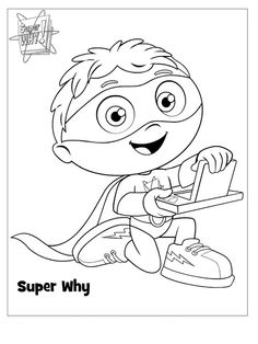 Sarah with an H: Super Why Party