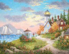 Evening Sail Dennis Lewan