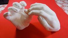 Faça a Réplica da Sua Mão em Gesso - DIY