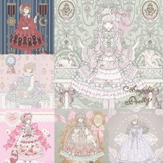 Kira Imai 2016 Angelic Pretty illutraitons