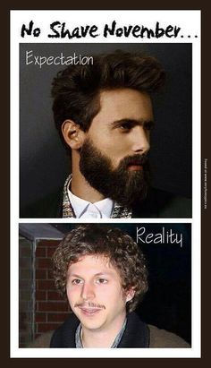 Every Girl's No Shave November Expectations Vs Reality by ...