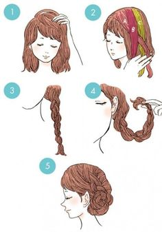 20 cute hairstyles that are extremely easy to do - hairstyles .- 20 süße Frisuren, die extrem einfach zu tun sind – Frisuren Modelle 20 cute hairstyles that are extremely easy to do - Cute Quick Hairstyles, Braided Hairstyles, Stylish Hairstyles, New Hair, Your Hair, Underlights Hair, Long Length Hair, Hair Lengths, Curly Hair Styles