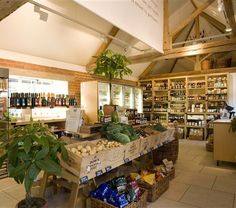 Goodwood Farm Shop. Exclusive, expensive but lovely food! Includes home reared on the #Goodwood Estate, organic beef and lamb.