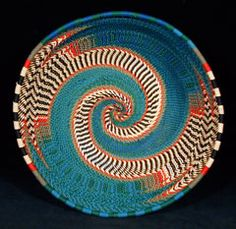 Zulu basket made out of telephone wire. BelAfrique - Your Personal Travel Planner - www.belafrique.com