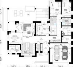 Pool House Plans, House Layout Plans, Barn House Plans, Dream House Plans, House Layouts, My Dream Home, Village House Design, Bungalow House Design, Village Houses