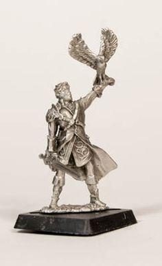 Hawk Silverblade, by Valiant Miniatures