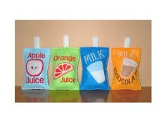 In The Hoop Fun Felt Drink Boxes Machine by NewfoundApplique, $5.99