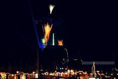 Willkommen in 2014 nun auch in Warnemünde! #leuchtturminflammen #warnemünde #photographerslife #rostock #willkommen2014